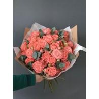 Кустовая роза «Барбадос»