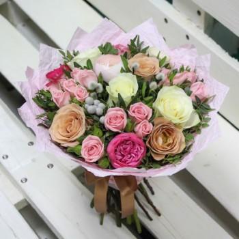 Букет роз «Гестия»