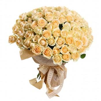 Персиковая роза «Пич Аваланч»